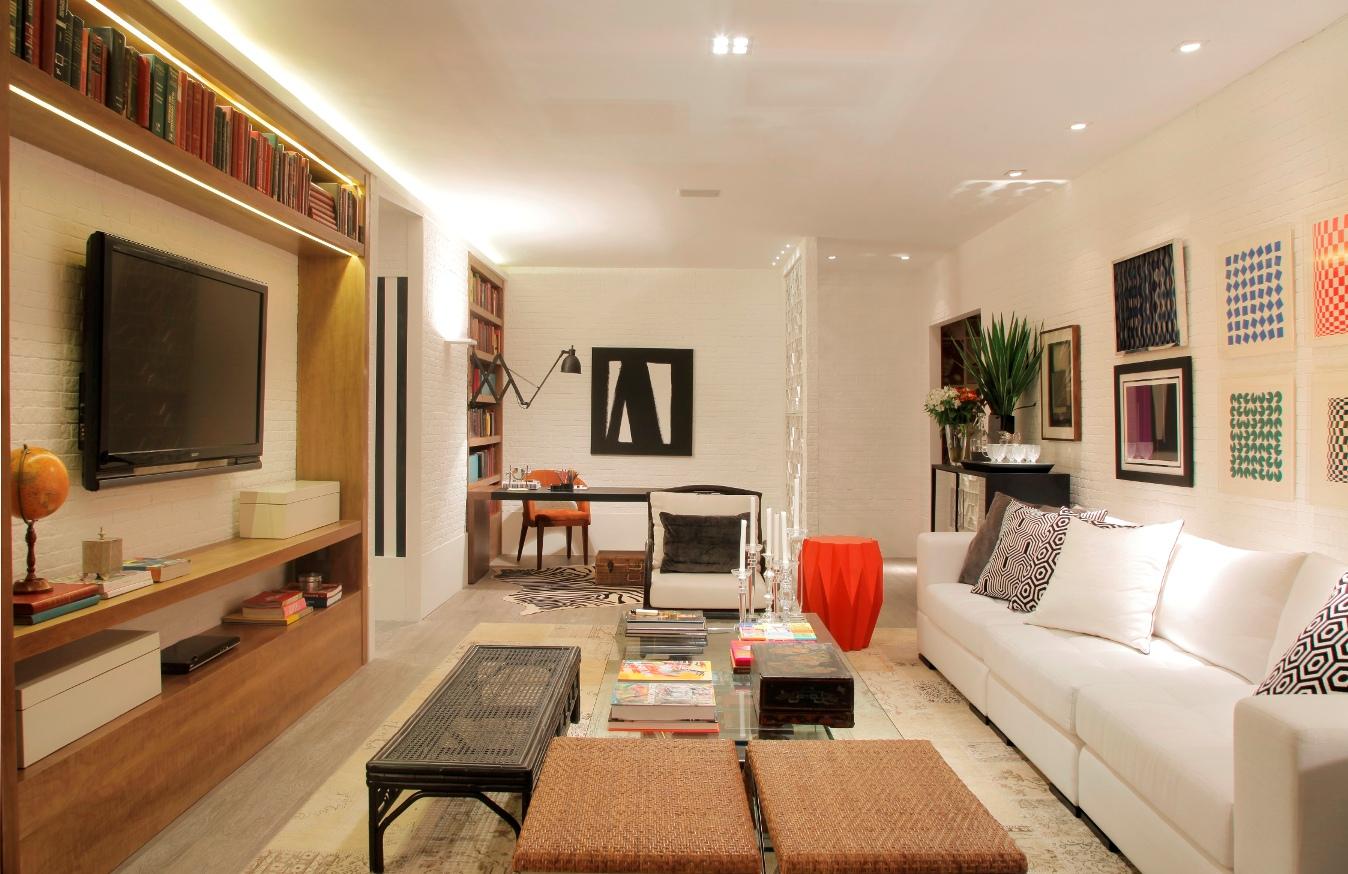 Sala De Tv Com Barzinho ~ outro ambiente é a sala de convivência familiar criada por