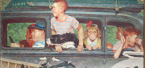 Norman Rockwell-artista-natal-infancia-livros-pintor-bossame